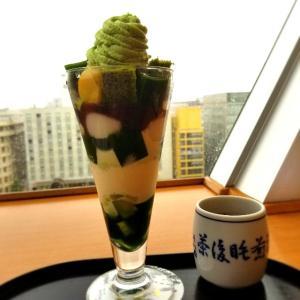 【京都】【スィーツ】『茶寮都路里 京都伊勢丹店』に行ってきました。 抹茶パフェ 京都グルメ 女子旅
