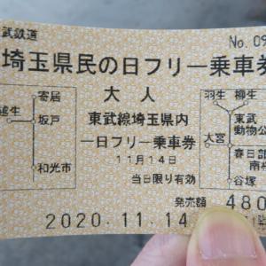 【埼玉県民の日フリー乗車券の旅2020】みなみ寄居、そしててっぱくへ