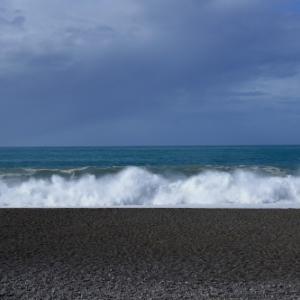 煙樹ヶ浜~日ノ岬に行ってきました(2019年台風10号接近中)