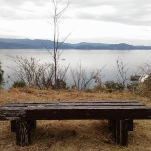 和歌山県 田ノ浦もアマルフィ感? 山の小道からの風景