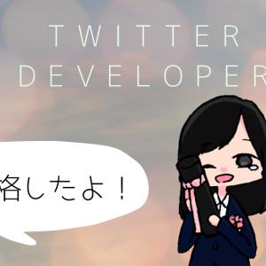 Twitter Developer(開発者)アカウントを作成するのに意外と苦労した話