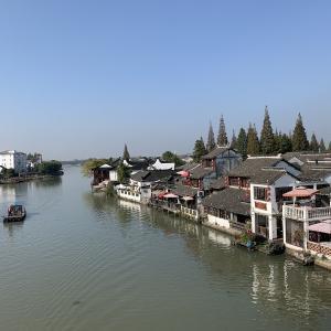 上海郊外 江南古鎮朱家角