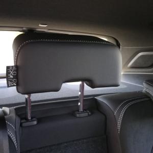 ボルボXC40 R-Design のシート(後席編③)