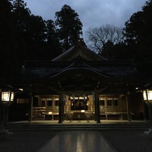 白山比咩神社にGO~。