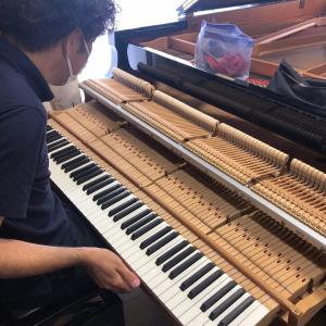ピアノの調律師さん