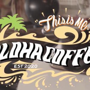 「ALOHA COFFEE」のビデオにピアノ演奏で出演しました