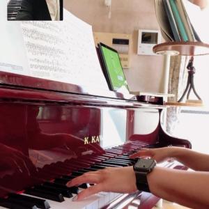 大人の生徒さんオンラインピアノレッスン