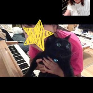 今日はオンラインピアノレッスンにしてほしい