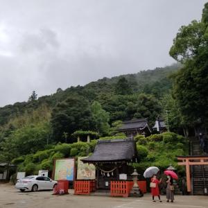 琵琶湖に浮かび上がる鳥居と静かな雰囲気に癒される白髭神社にいってきた 滋賀旅行2020②