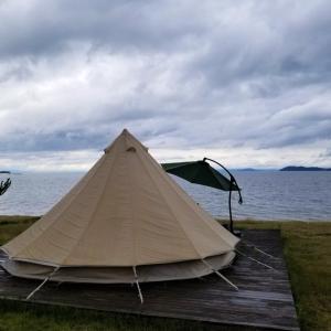 琵琶湖で気軽にグランピングができるグラスター初日 自然と波の音に包まれて過ごす贅沢な時間 滋賀旅行2020レポート③
