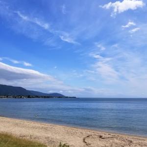 琵琶湖で気軽にグランピングができるグラスター 朝焼けからの2日目 泊まった注意点も 滋賀旅行2020レポート④