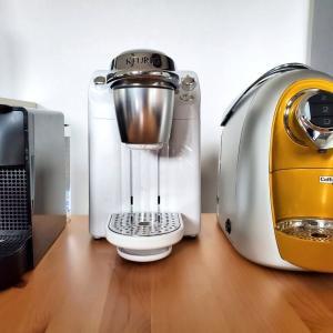 カプセル式コーヒーマシン3種比較!自宅でおいしいコーヒーを飲むにはネスプレッソが最強説