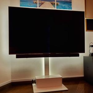 DIY テレビ裏の間接照明を交換!工具不要!LDEテープとスマートコンセントでおしゃれ部屋に【Lepro】