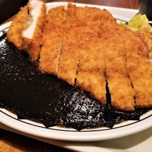 【カレー店レビュー】巨大チキンカツと黒いルーが新しい Daru食堂 チキンカツ黒ルーカレーを実食