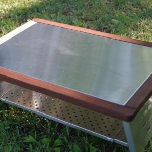 映え最強のローテーブル、笑's 焚き火調理台450re