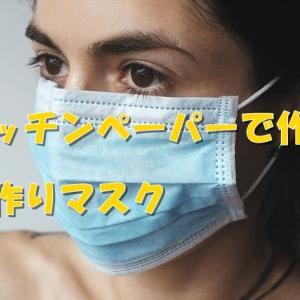 ハイクオリティな手作りマスク【キッチンペーパー編】