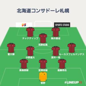 【J1第7節】北海道コンサドーレ札幌vs横浜Fマリノス