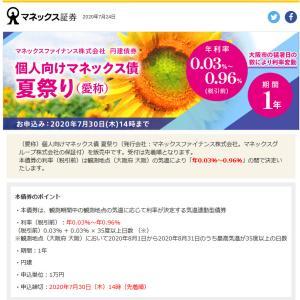 「今年の大阪が暑くて大変になって欲しい!」と願う債券……こんなのがあるのですね