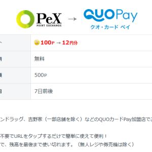 ポイントサイト2つ通して、10万円が22.4%増……また「QUOカードPay」です