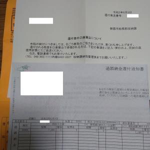 朝霞市から「住民税の還付」についての書類が来ました……振り込め詐欺か!?(笑)