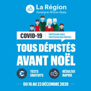 フランス Auvergne-Rhône-Alpes地方の コロナの検査を受けてきた!