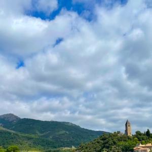 フランス「最も美しい村」Olargues ランドック・ルシヨン地方