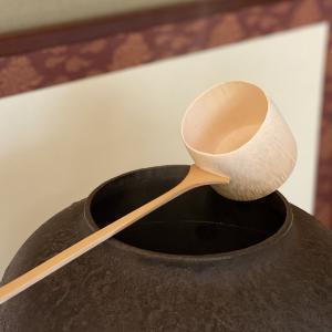 茶道の点前で使う柄杓