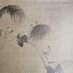 【寒山拾得・蝦蟇仙人】 絵の掛物の画題について