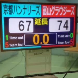 2019年12月1日(日)第95回天皇杯全日本バスケットボール選手権大会2次ラウンド 京都ハンナリーズvs富山グラウジーズ