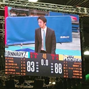 2020年12月27日(日)京都ハンナリーズvsサンロッカーズ渋谷