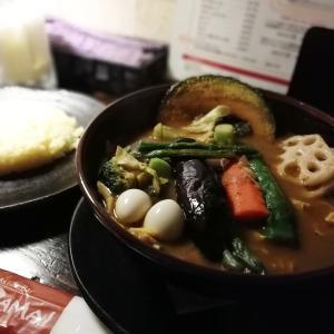 スープカレーが食べたくて。