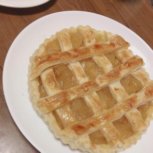 簡単!アップルパイのフィリング作り