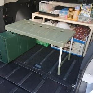 キャンプ道具の収納方法を変更してみた件