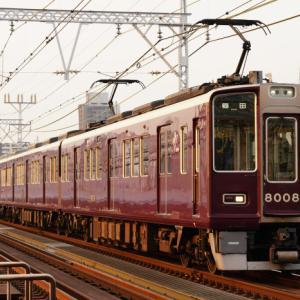 阪急8008fリニューアル後初撮影