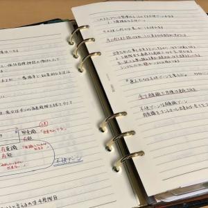 【システム手帳に書き込んでいること】の一例 こんな使い方もしているよ