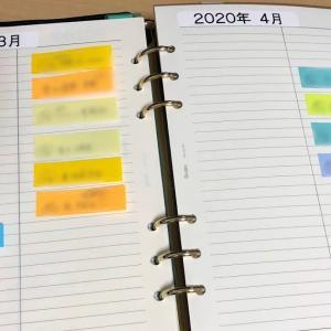 手帳で付箋を使った、これ以上ないくらいのシンプルで簡単なタスク管理の方法