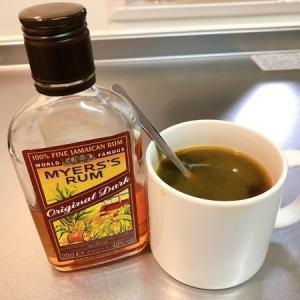 【グルメ】ラム酒+ホットコーヒー=コーヒー・グロッグ 大人の飲み物で一休み