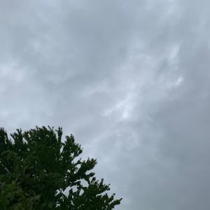 7月7日の雑記帳 - 今朝のお空写真