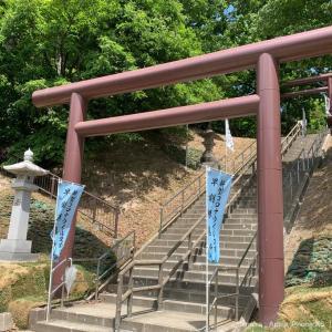 札幌、厚別神社の花手水を見てきました