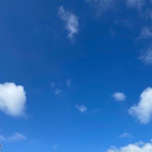 6月1日 今朝のお空|今朝のホットサンド|昨日の出来事
