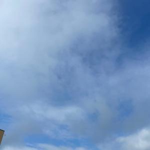 6月25日 今朝のお空|今朝のホットサンド