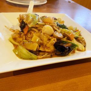 中華麺食堂かなみ屋女池上山店(新潟市中央区)で五目あんかけ焼きそばを食べてきた!