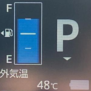 外気温48℃