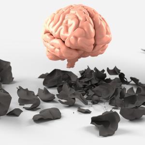 「酒をちょっとでも飲むと脳に悪影響をおよぼす」が常識になりつつある世の中だから。