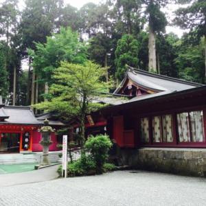 箱根神社参拝 箱根神社,九頭竜神社,お水取り(youtube動画)