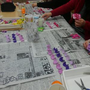 12月教室は新年のお飾り制作