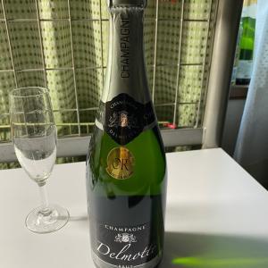 年越し シャンパン