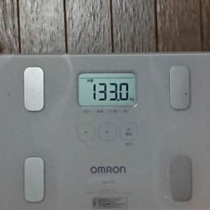 1月20日の体重実績報告