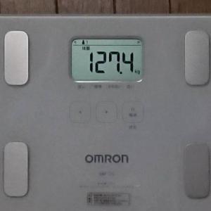 6月18日の体重実績報告