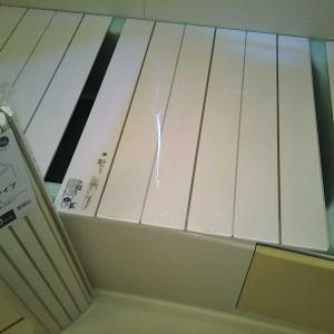 風呂ブタと倉庫の片付けと手土産解体と香りで予防